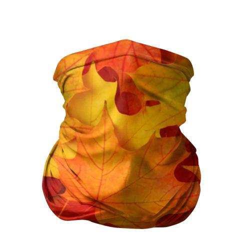 Бандана-труба 3D  Фото 01, Кленовые листья