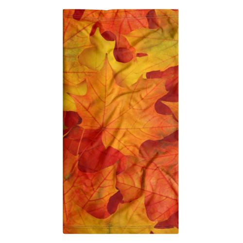 Бандана-труба 3D  Фото 07, Кленовые листья