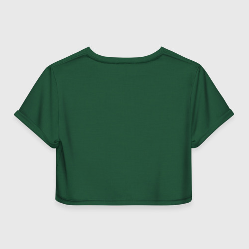 Женская футболка 3D укороченная  Фото 02, Атака титанов, Полиция
