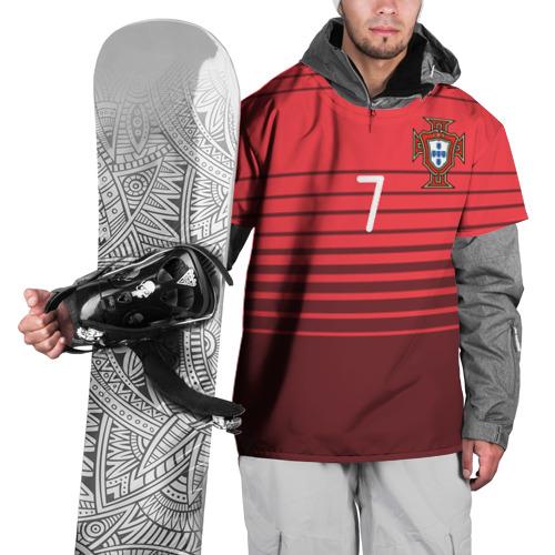Накидка на куртку 3D  Фото 01, Роналду сборная Португалии