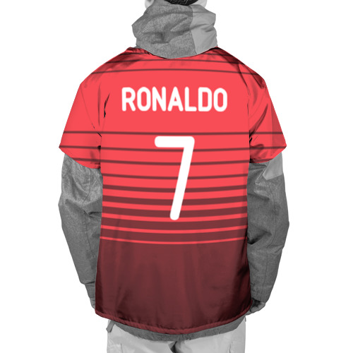 Накидка на куртку 3D Роналду сборная Португалии Фото 01