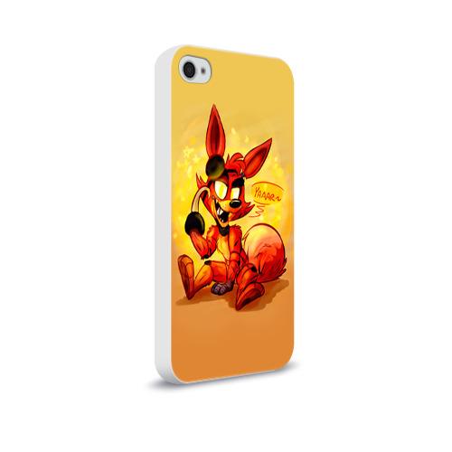 Чехол для Apple iPhone 4/4S soft-touch  Фото 02, Foxy