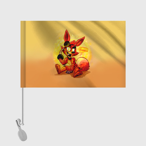 Флаг для автомобиля  Фото 02, Foxy