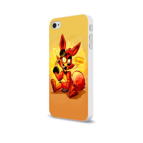Чехол для Apple iPhone 4/4S soft-touch  Фото 03, Foxy