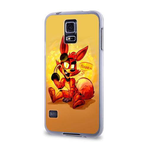 Чехол для Samsung Galaxy S5 силиконовый  Фото 03, Foxy