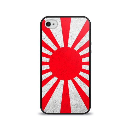 Чехол для Apple iPhone 4/4S силиконовый глянцевый Япония от Всемайки