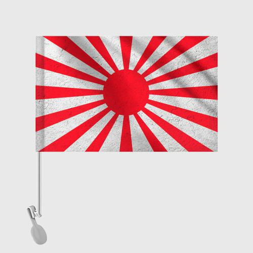 Флаг для автомобиля Япония Фото 01