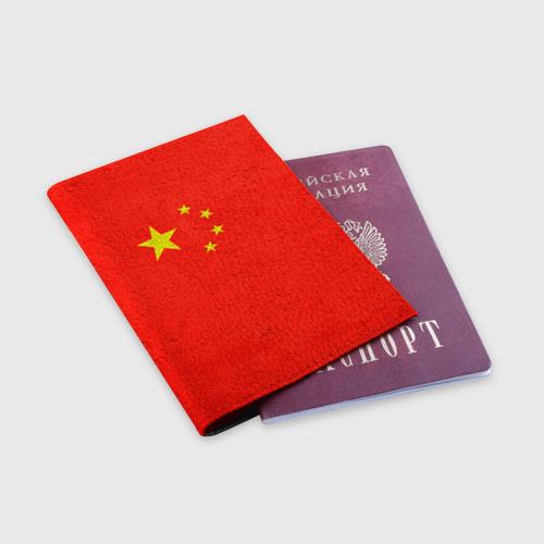 Обложка для паспорта матовая кожа  Фото 03, Китай