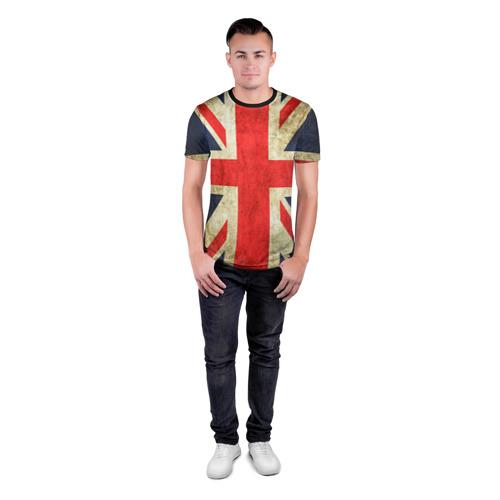 Мужская футболка 3D спортивная Великобритания Фото 01