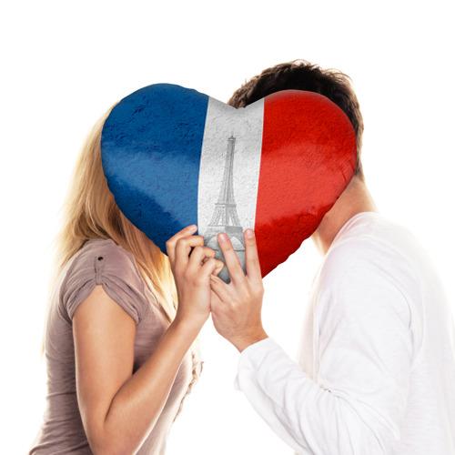 Подушка 3D сердце  Фото 03, Франция