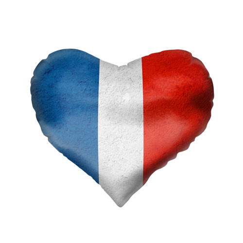 Подушка 3D сердце  Фото 02, Франция