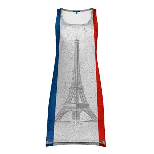 Платье-майка 3D Франция