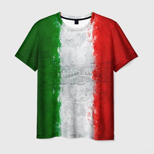 Мужская футболка 3D Италия