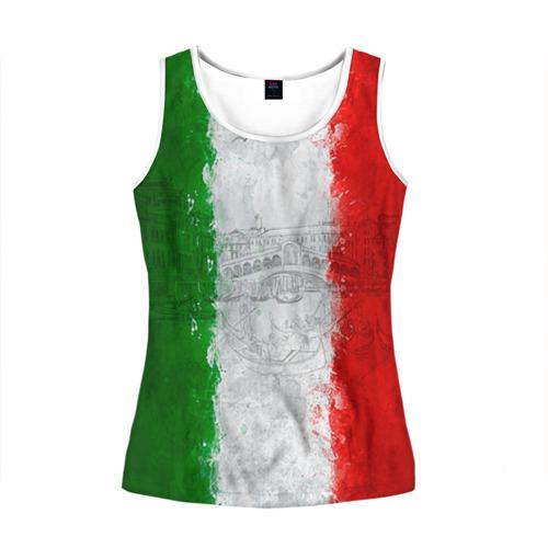 Женская майка 3D Италия