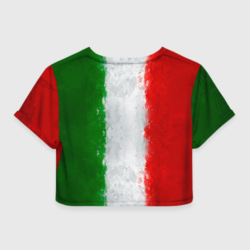 Женская футболка 3D укороченная  Фото 02, Италия
