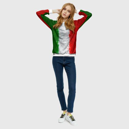 Женский свитшот 3D Италия