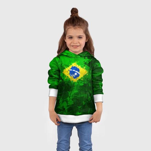 Детская толстовка 3D Бразилия