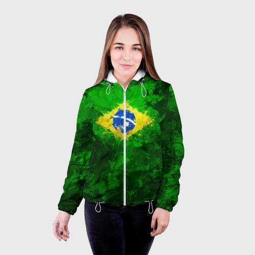 Женская куртка 3D Бразилия Фото 01