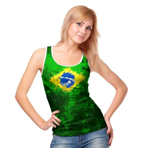 Женская майка 3D  Фото 05, Бразилия