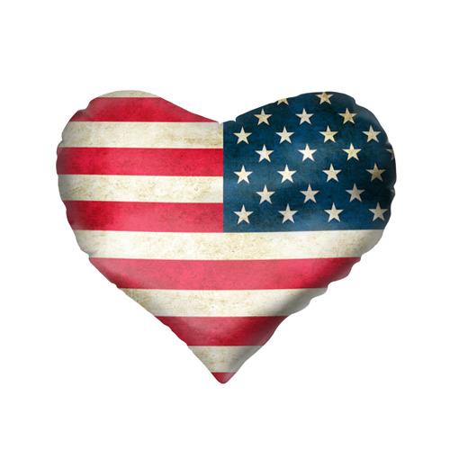 Подушка 3D сердце  Фото 02, США