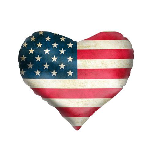 Подушка 3D сердце  Фото 01, США