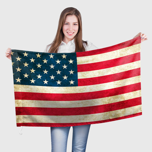 Флаг 3D США