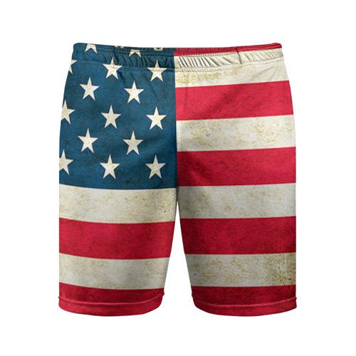 Мужские шорты 3D спортивные США