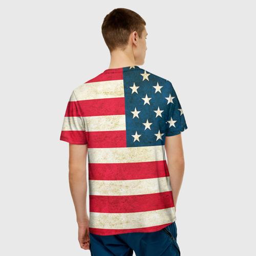 Мужская футболка 3D  Фото 02, США