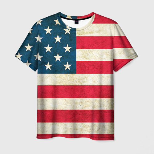 Мужская футболка 3D США