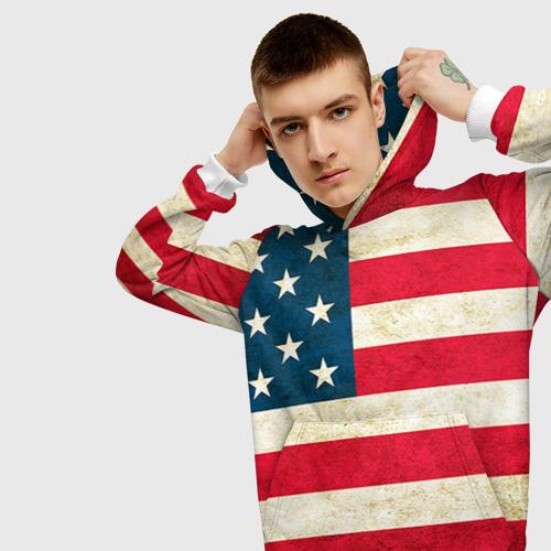 Мужская толстовка 3D США