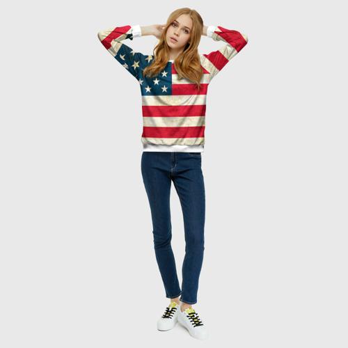 Женский свитшот 3D США
