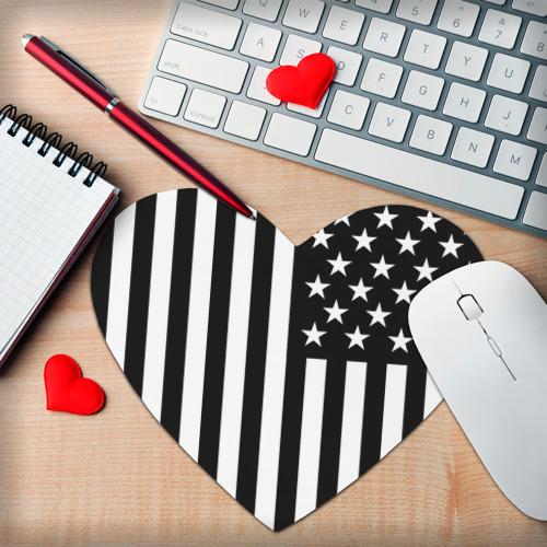 Коврик для мыши сердце  Фото 02, USA