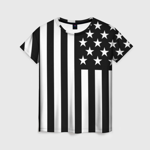 Женская футболка 3D USA от Всемайки