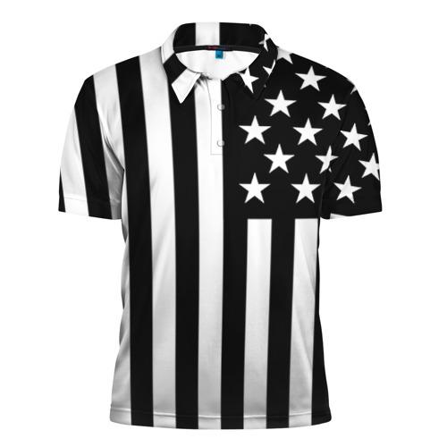 Мужская рубашка поло 3D USA