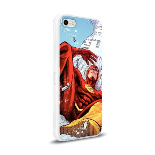 Чехол для Apple iPhone 5/5S силиконовый глянцевый  Фото 02, Cold