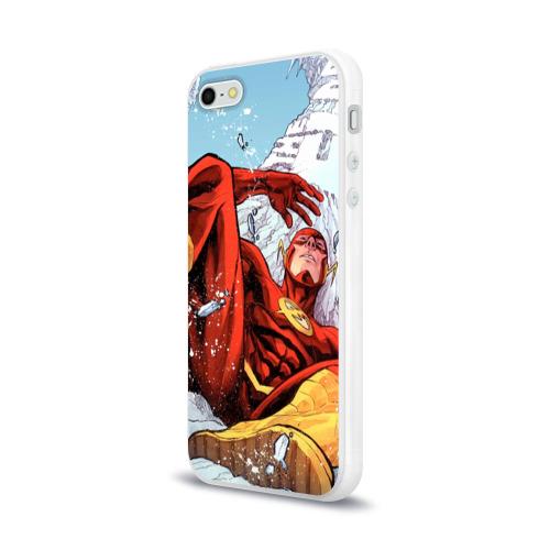 Чехол для Apple iPhone 5/5S силиконовый глянцевый  Фото 03, Cold