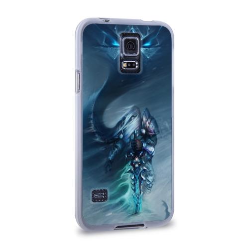 Чехол для Samsung Galaxy S5 силиконовый  Фото 02, Король лич