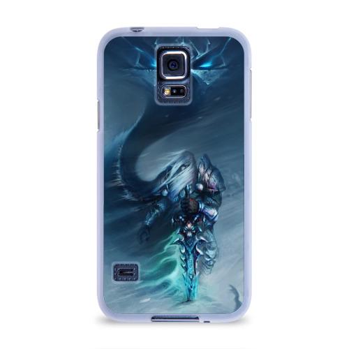 Чехол для Samsung Galaxy S5 силиконовый  Фото 01, Король лич