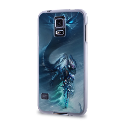 Чехол для Samsung Galaxy S5 силиконовый  Фото 03, Король лич