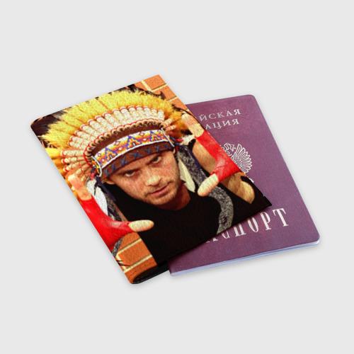 Обложка для паспорта матовая кожа  Фото 03, Взгляд
