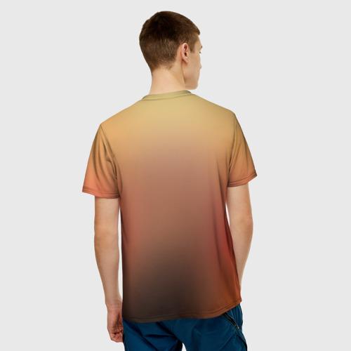 Мужская футболка 3D Взгляд