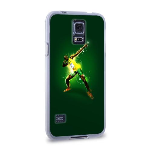 Чехол для Samsung Galaxy S5 силиконовый  Фото 02, Usain Bolt