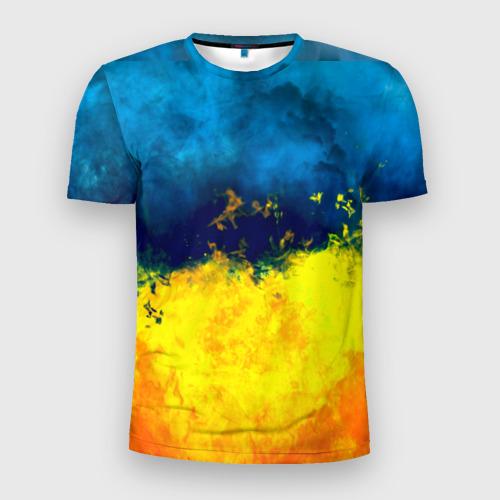 Мужская футболка 3D спортивная  Фото 01, Украина