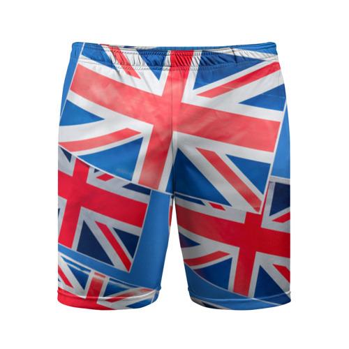 Мужские шорты 3D спортивные Британские флаги