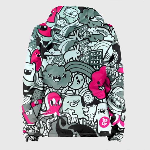 Женская куртка 3D  Фото 02, sticker bombing