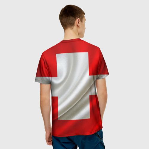 Мужская футболка 3D  Фото 02, Швейцария