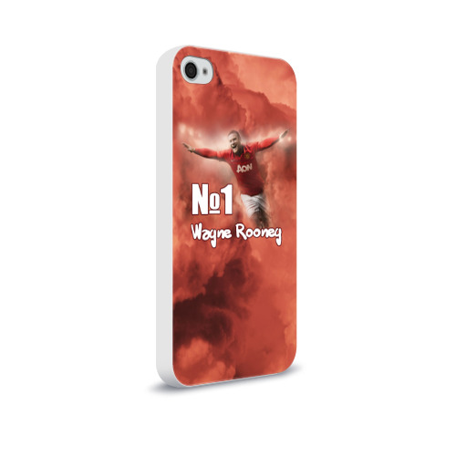 Чехол для Apple iPhone 4/4S soft-touch  Фото 02, Уэйн Руни