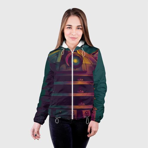 Женская куртка 3D  Фото 03, Далек