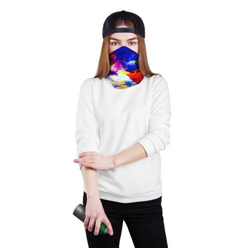 Бандана-труба 3D  Фото 02, Краска