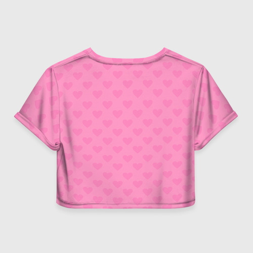 Женская футболка 3D укороченная  Фото 02, У меня девичник